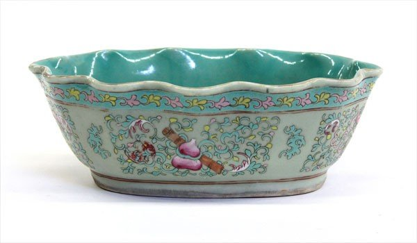 4017: Chinese Enameled Porcelain Bowl, Tongzhi