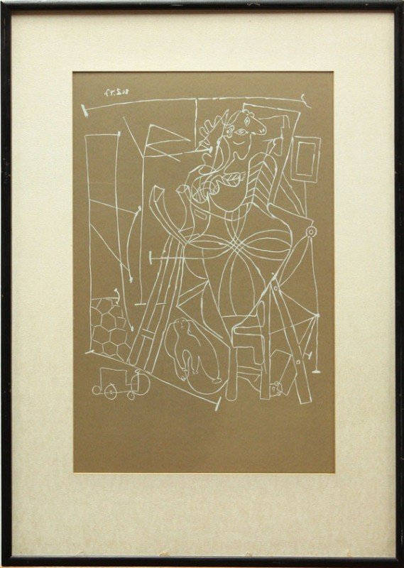 4328: Lithograph, after Pablo Picasso