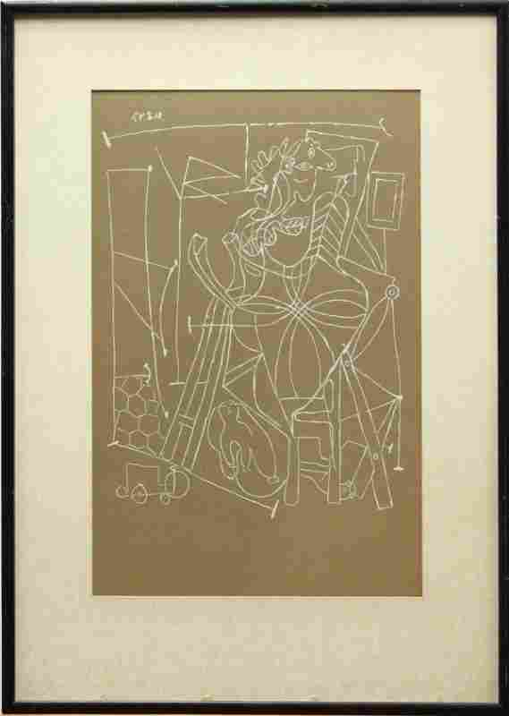 Lithograph, after Pablo Picasso