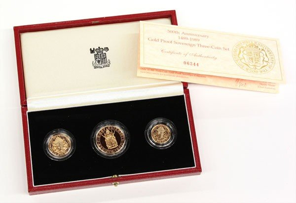 4689: United Kingdom 1989 proof set