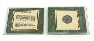 4694 Silver coin Tarentum Calabria