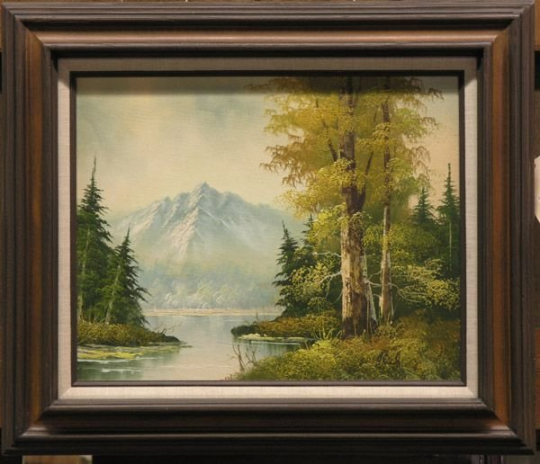2: Oil on canvas/landscape