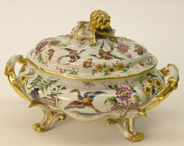 9: Limoges covered tureen