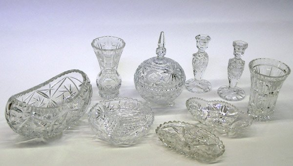 13: Cut and etched crystal