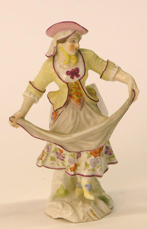 14: Continental porcelain/maiden dancing