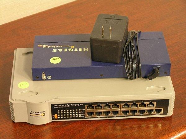 175J: Netgear DS108 8-Port Hub