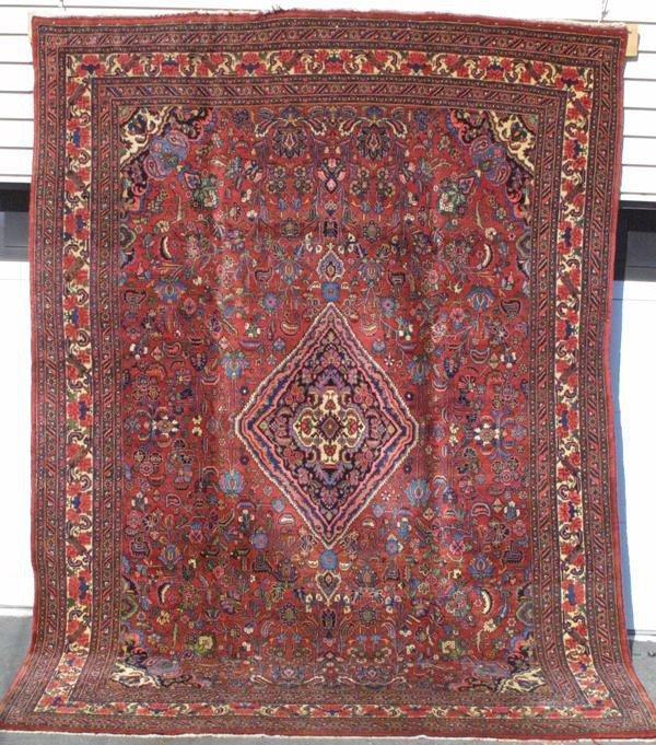 2018: Persian Bijar carpet