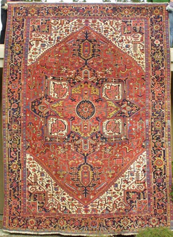 2019: Heriz carpet