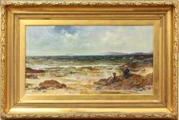 2192 Painting Edwin Ellis At the Seashore