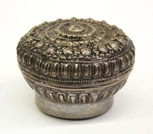 2: Southeast Asian Repousse Silver Box