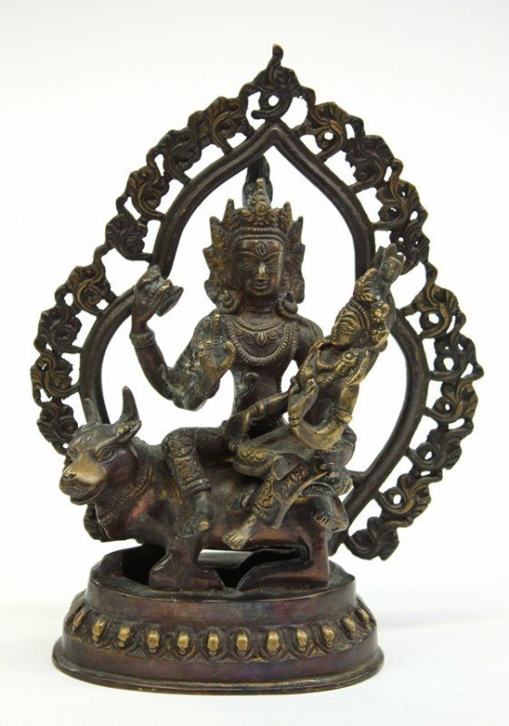 3: Himalayan Copper-Alloy Hindu Figural Group