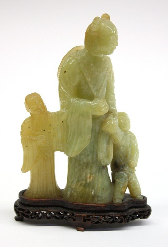 10: Chinese Hardstone Figural Carving
