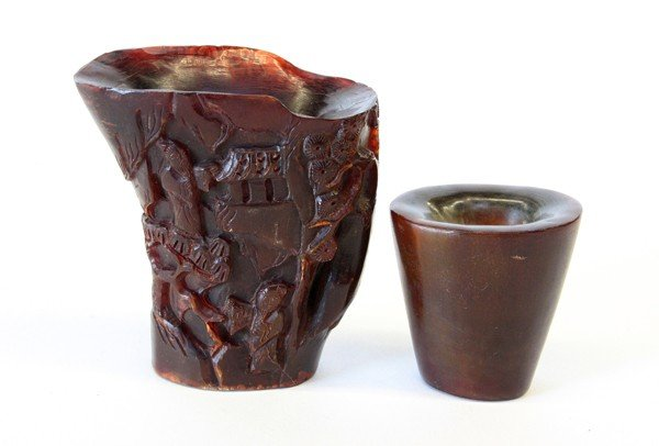 20: Chinese Horn Cups
