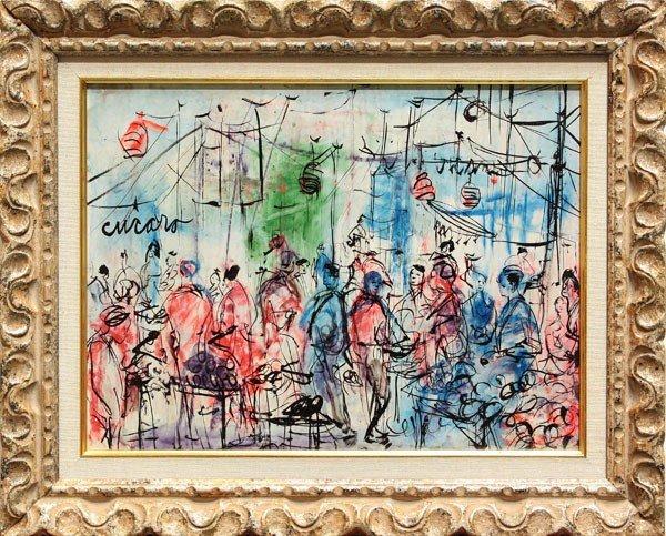 335: Painting, Pascal Cucaro, Carnival Bazar