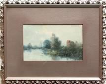 385: Watercolors, Robert Wands, Landscapes