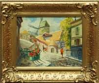 457: Painting, Andre Frachet, Paris