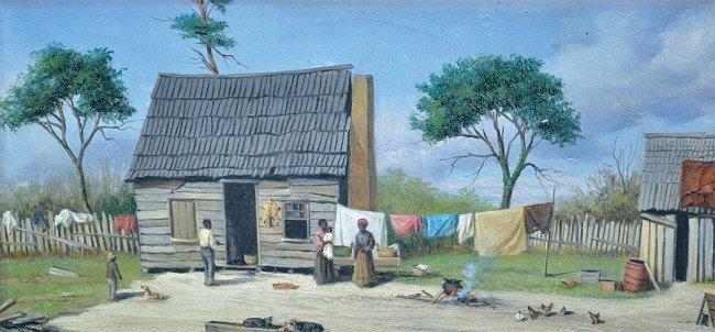 6224: Painting, William Aiken Walker, Wash Day
