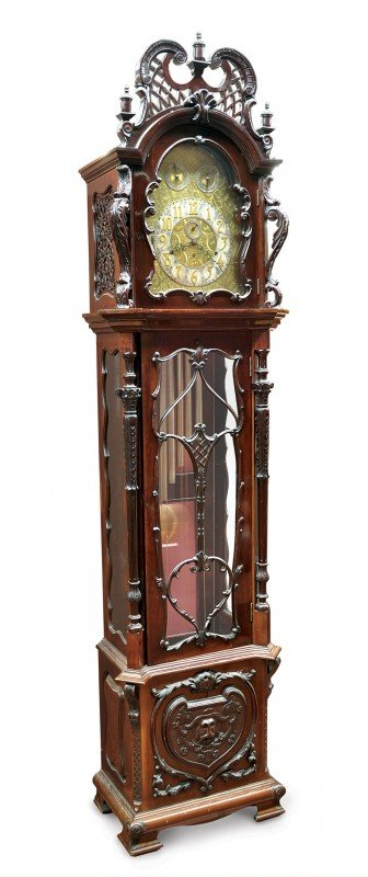 6401: Elliott, London tall case clock