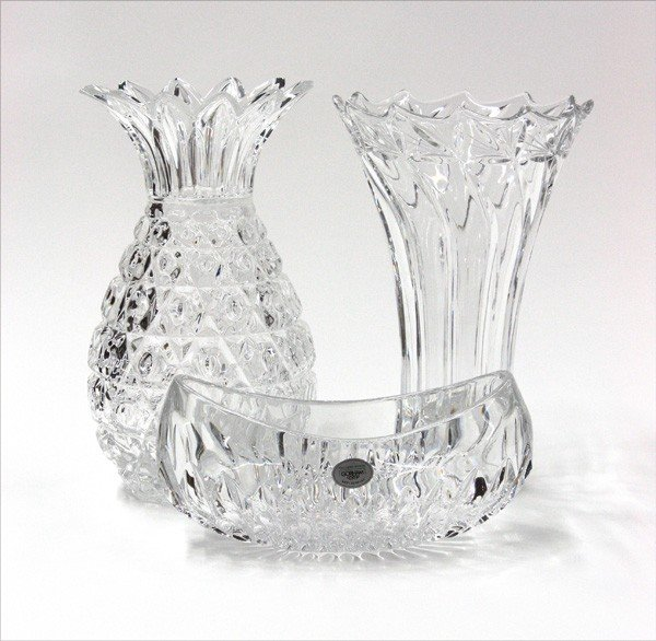 6000: Crystal vases