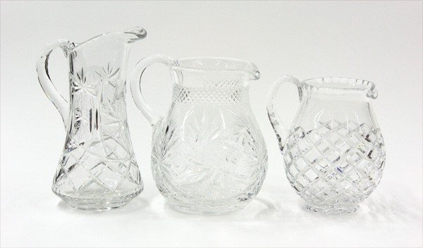 6005: Crystal pitchers