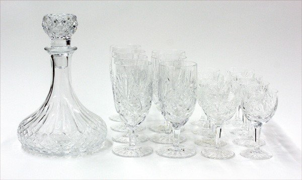 6007: Crystal stemware