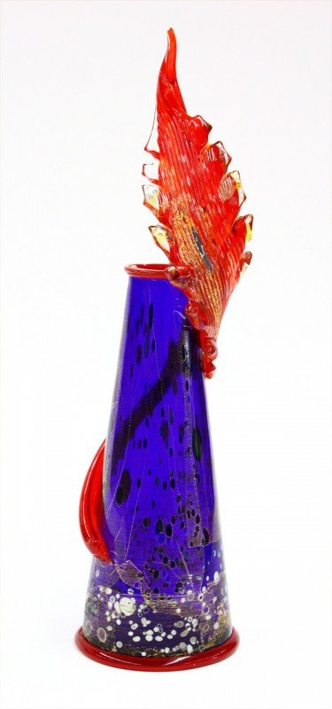 6013: Dale Chihuly Venetian piccolo vase