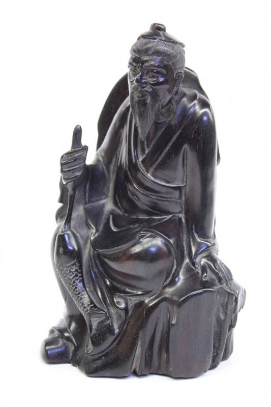 4000: Chinese Wood Figure, Jiang Tai Gong