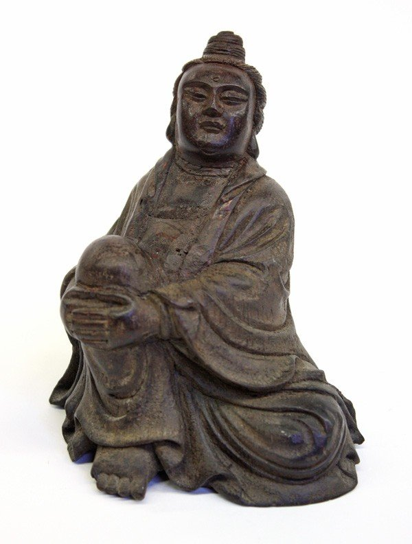 4004: Chinese Bamboo Figure of a Immortal