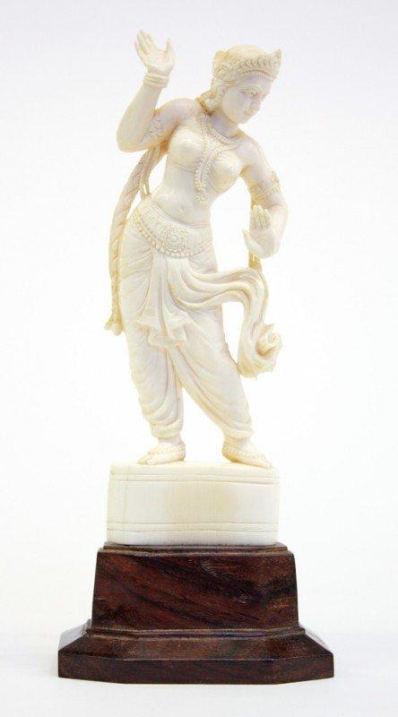 4005: East Indian Ivory Figure
