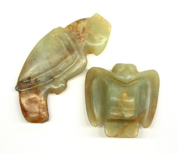 4015: Chinese Archaisitic Jade Carvings