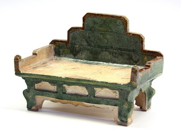 4022: Chinese Ceramic Daybed Model, Ming