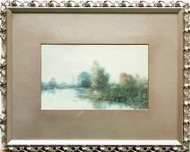 4489: Watercolors, Robert Wands, Landscapes
