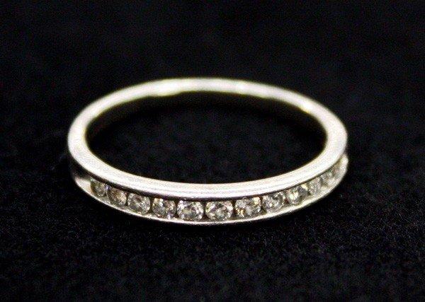 4599: Diamond band ring
