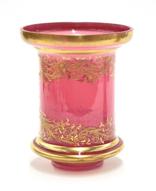2004: Gilt decorated vase