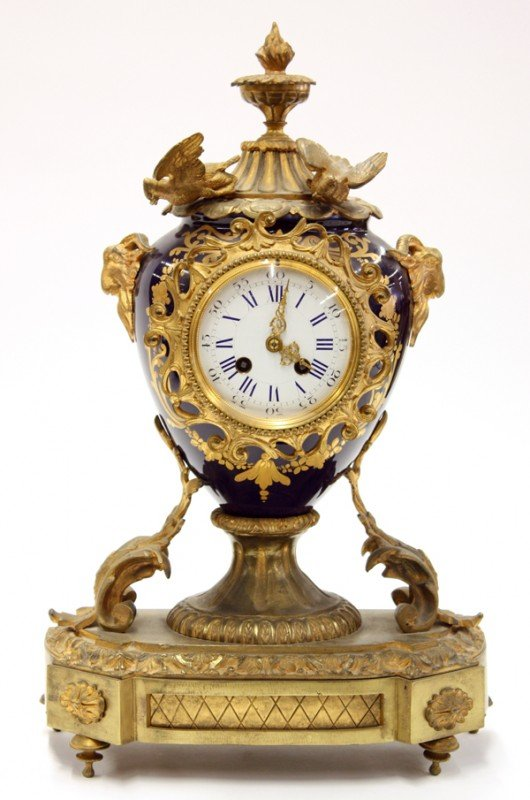 2010: French mantle clock