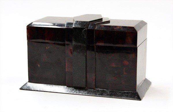 2022: Art Deco tortoise casket