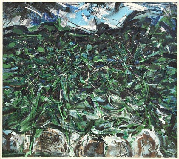 2156: Painting, Glenn Wessels, Dark Sea