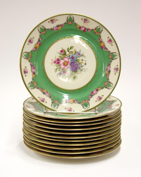 6006: Rosenthal 'Ivory' service plates