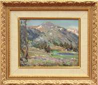 6219: Painting, Charles H. Harmon, Mount Dana (Yosemite