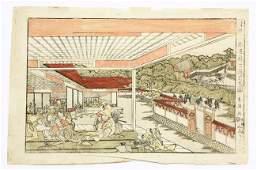 6534 Japanese Woodblock Print Ukie Toyokuni I