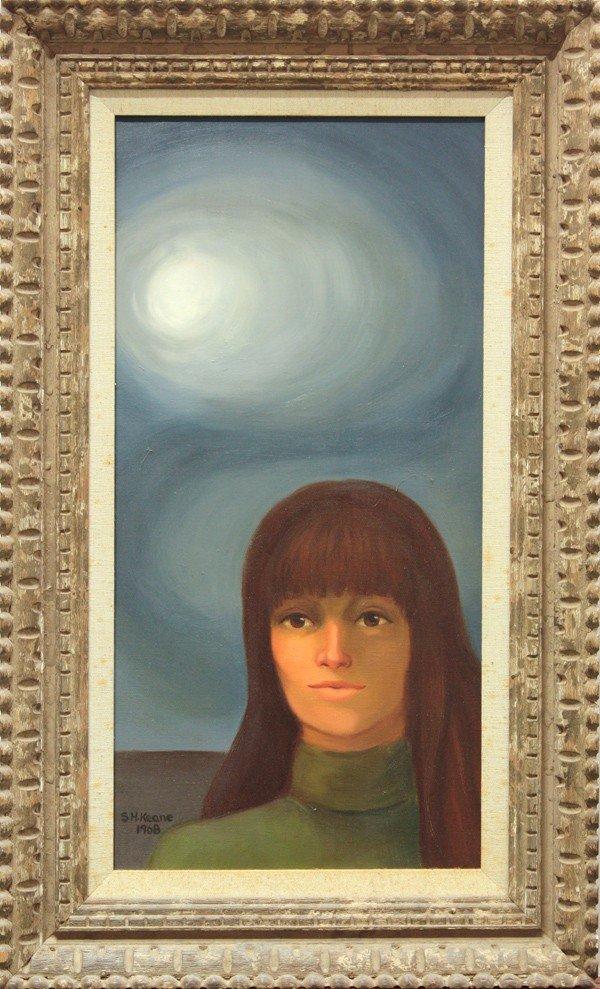 4422: Paintings, S.H. Keane, B. Harris, Portrait, Panda - 2