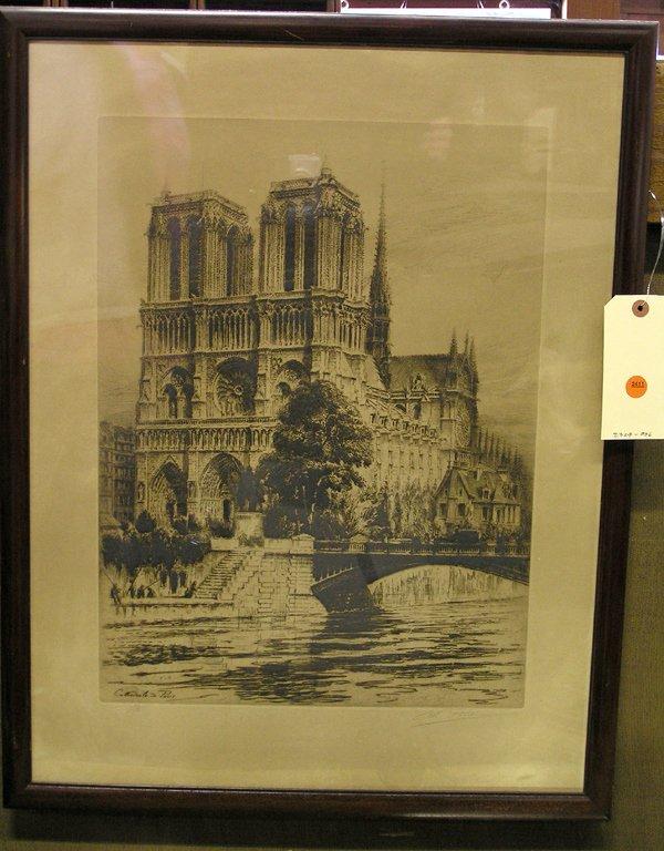 4000: Etching, Charles Pinot