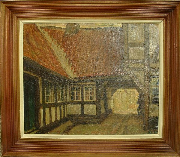 4002: Oil/canvas, Ejnar Hansen