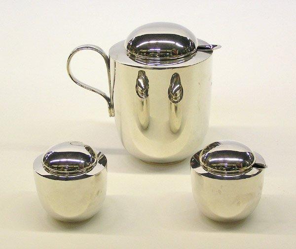 4009: Dansk Silverplate Tea Set