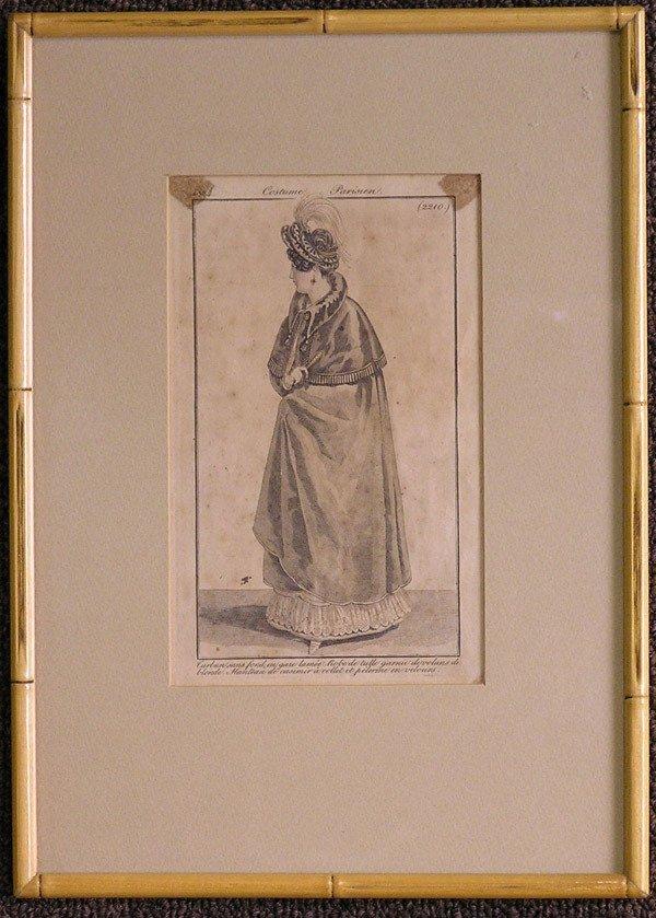 4010: Engravings, Parisian fashion plates
