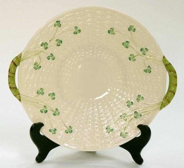 4012: Belleek cake plate