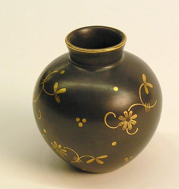 4013: Austrian gilt decorated vase