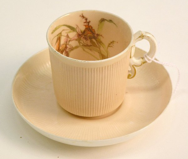 4017: Shreve demitasse cup and saucer set