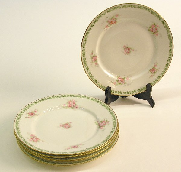 4020: Group of Limoges plates