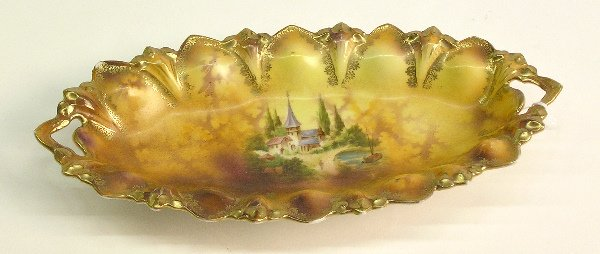 4022A: RS Prussia Decorated Tray